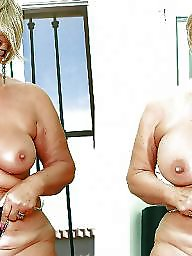 Before and after, Before after, Tit job, After, Teen big tits, Job