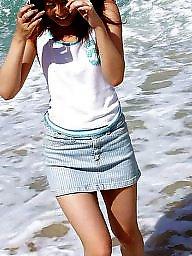 Asian, Beach