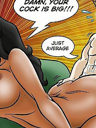 Comics, Interracial cartoon, Interracial cartoons, Comic