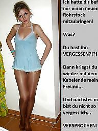 Femdom captions, German caption, German captions, Teen captions, Femdom caption, Bdsm captions