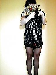 Stockings upskirt, Mini dress, Upskirt stockings, Dress