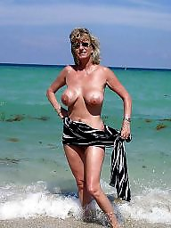 Granny beach, Mature beach, Granny big boobs, Beach boobs, Mature boobs, Beach granny