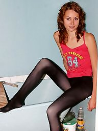 amateur collant teen photo