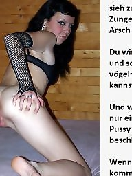 Femdom captions, Bdsm captions, German captions, German caption, Teen captions, Teen caption