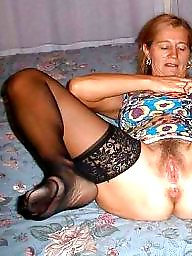 Mature hairy, Dressed undressed