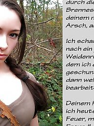 German captions, Femdom caption, Femdom captions, Teen femdom, German caption, Teen captions