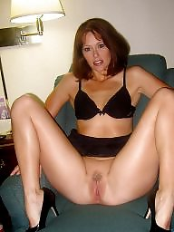 Open legs, Milf legs, Wide, Leggings