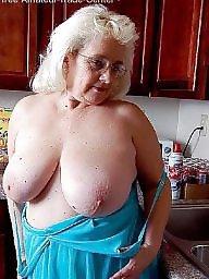 Grandma, Hairy mature, Mature bbw