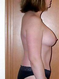 Wife, Nude, Milf tits