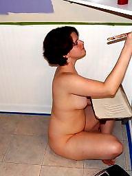 Nude milf, Nude amateur, Paint