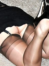 Vintage, Mature stockings