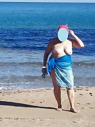 Matures in beach, Mature in the beach, One day, Beach day, A day beach, A day a the beach