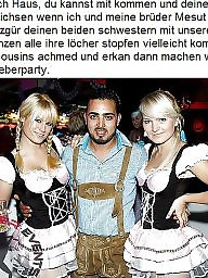 German caption, Interracial captions, German captions, Turkish, Turkish girl