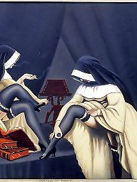Femdom cartoon, Bdsm cartoons, Nuns, Cartoons, Bdsm cartoon, Cartoons bdsm