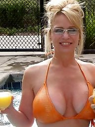 Mature boobs, Blonde mature, Hot mature
