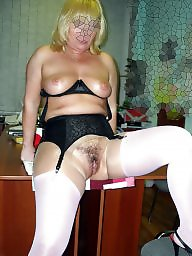 Wide open, Stockings hairy, Mature stockings, Office, Mature stocking, Hairy stockings