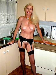 Blond mature, Grannies, Granny