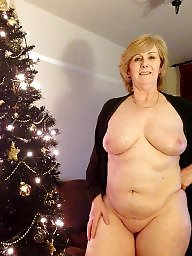 Christmas, Grannies, Amateur milf, Karen, Mature, Granny