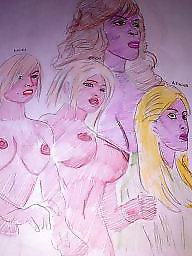 X-art, Work boobs, Workes, S&m art, S m art, Big cartoons