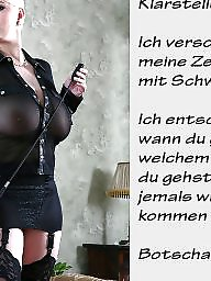 German caption, German captions, Femdom captions, German, Bdsm captions, Teen