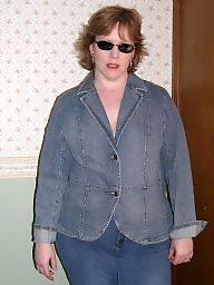 Bbw jeans, Bbw, Blue, Bbw boobs