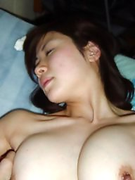 Tit sucking, Cute, Posing, Sucking, Asian big tits