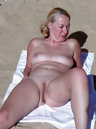Mature beach, Beach, Mature wife, Beach mature