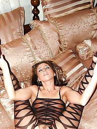 Wide open mature, Wide nylons, With stocking, With stockings, Stockings wide open, Stockings wide