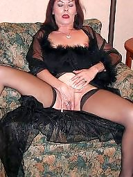 Squirting, Stocking milf, Squirt