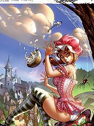Fantasy cartoons, Fantasy cartoon, Fantasy amateur, Fairy cartoons, Fairie, Amateure cartoon