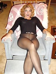 Stockings, Pantyhose milf, Stocking, Milf pantyhose, Pantyhose