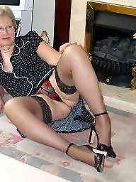 Grannies wearing stockings