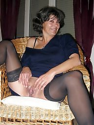 Nylon, Stocking milf, Sexy milf, Sexy mature, Mature nylons, Nylon mature