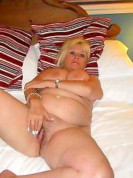 Amateur granny, British mature