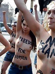 Topless public, Public topless, Public nipples, Public nipple, Protest, Nudity nipples