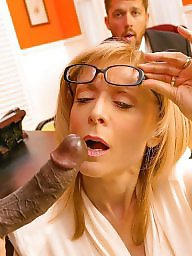 Nina hartley, Office, Milf fuck, Nina, Fuck, Stocking fuck