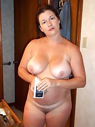 Tanlines, Chubby milf, Chubby mature, Chubby tits, Tanline, Chubby