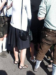 Amateur stockings, Candid pantyhose, Candid