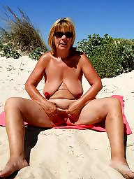 Milf on the beach pics