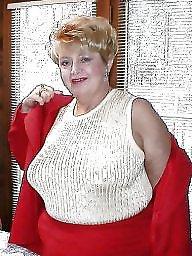 Granny, Bbw granny, Clothed, Granny bbw, Mature lingerie, Busty granny
