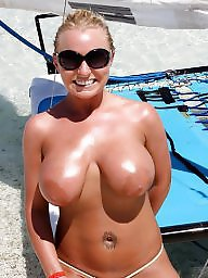 Areolas, Areola, Mature big tits, Big nipples