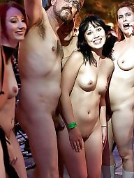 Flashing, Flash, Group, Public, Sex