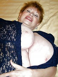 Big nipples, Mature big tits, Aunt, Mature boobs