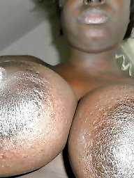 African, Ebony amateur, Ebony nipples, Black nipples, Huge nipples, Nipples