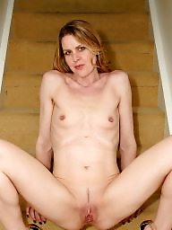 Naked, Blond mature, Mature naked, Naked milf, Naked mature, Stairs