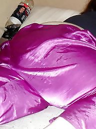 Purple satin, Purple, Pajama, Ssbbws, Ssbbw, Satin porn