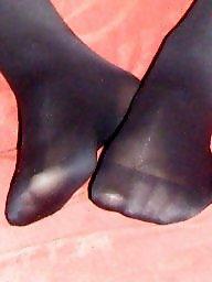 Feet, Nylon, Stockings, Nylon feet, Nylons, Stocking