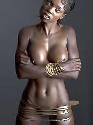 Ebony boobs, Ebony