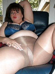 pantyhose and Bbw tits big shiny
