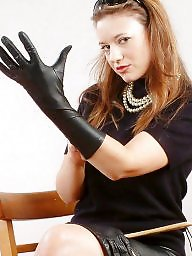 Gloves, Fingering, Lady, Ladies